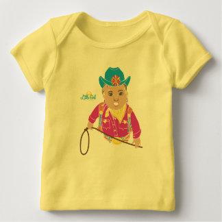 T-shirt de bébé de cow-girl (hispanique)