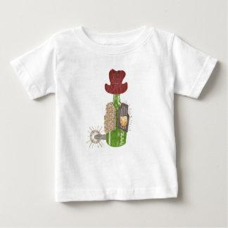 T-shirt de bébé de cowboy de bouteille