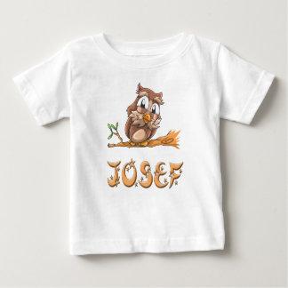 T-shirt de bébé de hibou de Josef