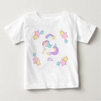 T-shirt de bébé de licorne