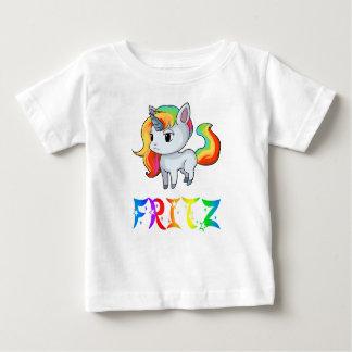 T-shirt de bébé de licorne de Fritz