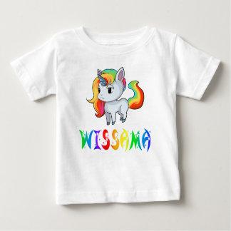 T-shirt de bébé de licorne de Wissama