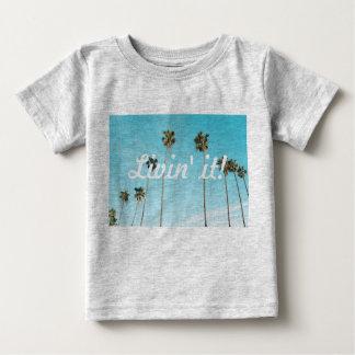 T-shirt de bébé de palmier