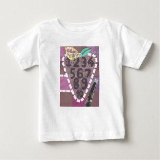 T-shirt de bébé de piscine de raisin