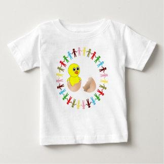 T-shirt de bébé de POUSSIN de BÉBÉ