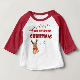 T-shirt de bébé de Sigamart avec des douilles pour