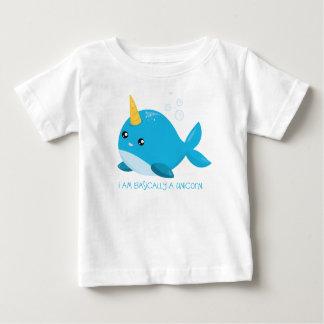 T-shirt de bébé/enfant en bas âge de licorne de