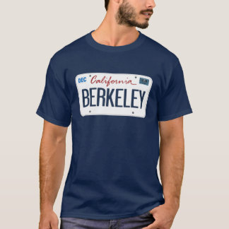 T-shirt de Berkeley la Californie de plaque
