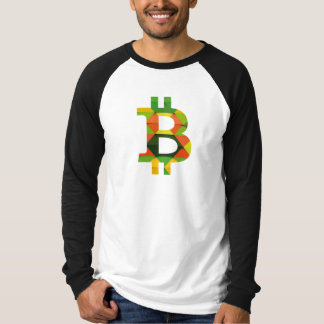 T-shirt de BITCOIN/PATTERN-Men