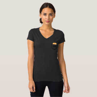 T-shirt de BITCOIN/POCKET-Women