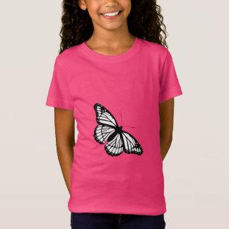 T-Shirt ~ DE BLANC DE PAPILLON