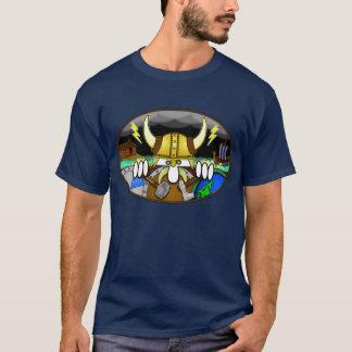 T-shirt de bleu de Viking Kilroy