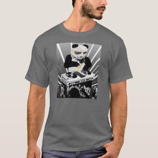 T-shirt de Bling Bling de panda du DJ