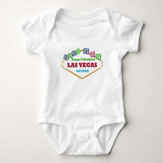 T-shirt de blocs de Las Vegas de bébé