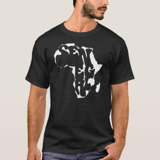 T-shirt de bongo de l'Afrique Sénégal