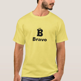 T-shirt de bravo