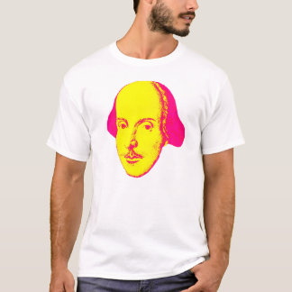 T-shirt de Bruit-Art de William Shakespeare