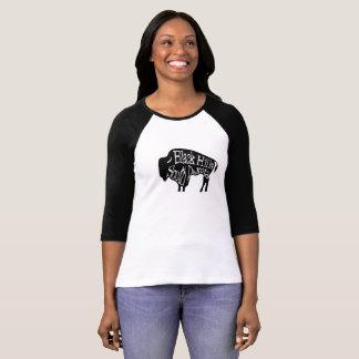 T-shirt de Buffalo de bison de Black Hills le