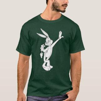 T-shirt ™ de BUGS BUNNY mangeant la carotte