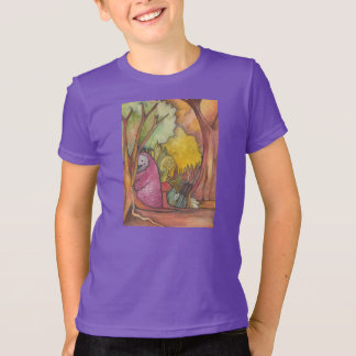 T-shirt de cache-cache d'enfants