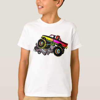T-shirt de camion de monstre