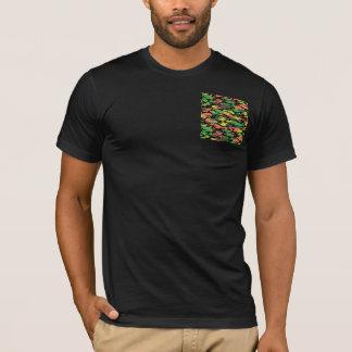 T-shirt de camouflage