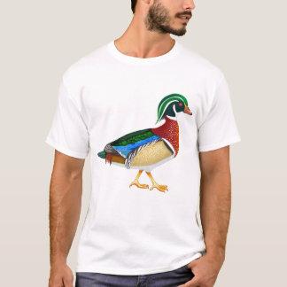 T-shirt de canard en bois