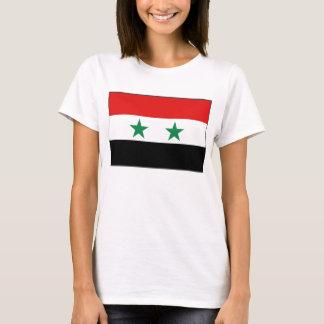 T-shirt de carte du drapeau X de la Syrie
