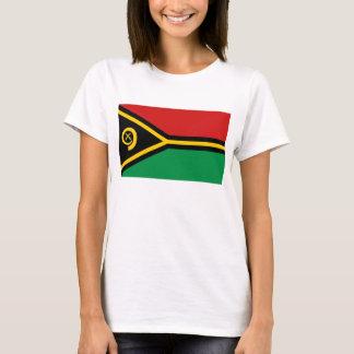 T-shirt de carte du drapeau X du Vanuatu