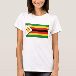 T-shirt de carte du drapeau X du Zimbabwe