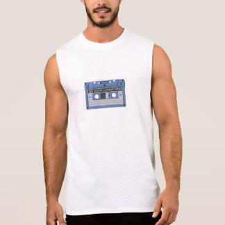 T-shirt de cassette audio