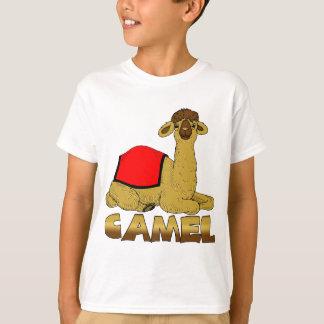 T-shirt de chameau pour des enfants - chameau de