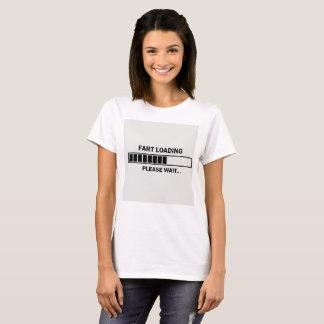 T-shirt de chargement de pet, blanc