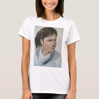 T-shirt de charité de falaise