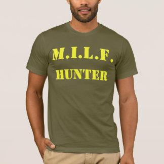 T-shirt de chasseur de MILF