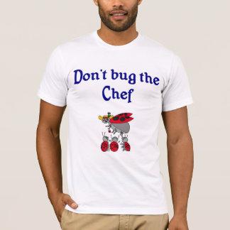 T-shirt de chef ou de cuisinier