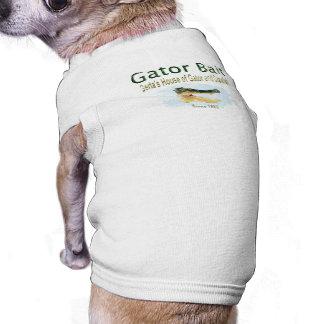 T-shirt de chien d'amorce d'alligator