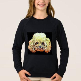 T-shirt de chien de caniche