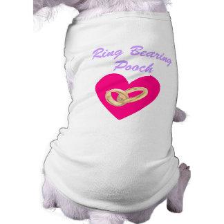 T-shirt de chien de mariage de cabot d'incidence