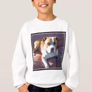T-shirt de chien de terrier de Pitbull