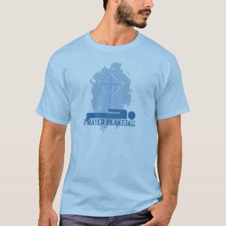 T-shirt de chrétien de Planking de prière
