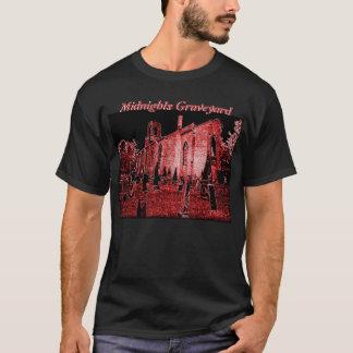 T-shirt de cimetière de minuit