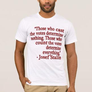 T-shirt de citation de Josef Stalin