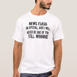 T-shirt de citations de Charlie Sheen de flash
