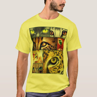 T-shirt de collage de plot réflectorisé