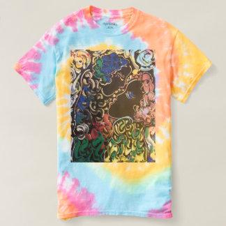 T-shirt de colorant de cravate de carnaval