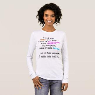 T-shirt de coloriste de cheveux