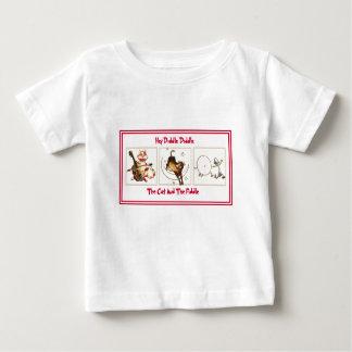 T-shirt de comptine pour des nourrissons