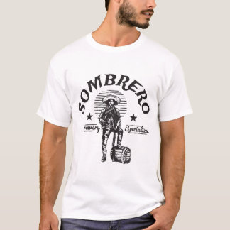 T-shirt de conception de sombrero