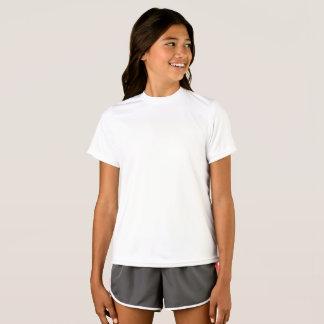T-shirt de concurrent du Sport-Tek des filles
